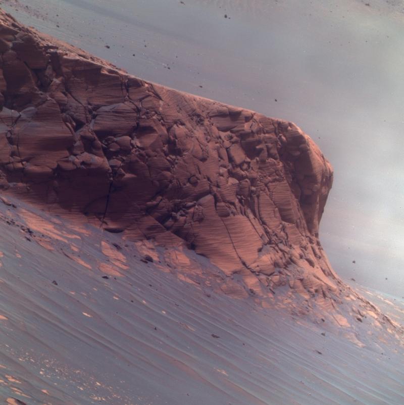victoria crater cliff
