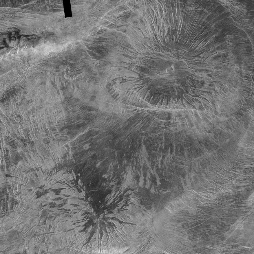 Miralaidji Corona and Diana Chasma on Venus