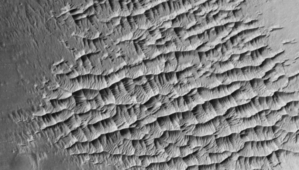 mars dust ripples